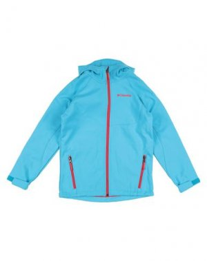 Куртка COLUMBIA. Цвет: бирюзовый