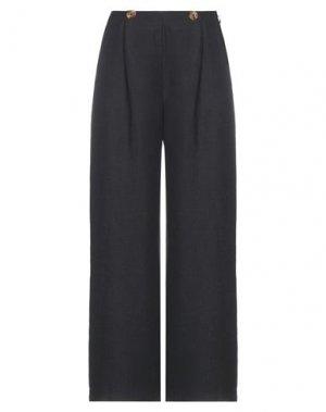 Повседневные брюки DES PETITS HAUTS. Цвет: стальной серый
