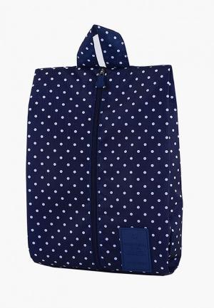 Органайзер для хранения Homsu Blue dots. Цвет: синий
