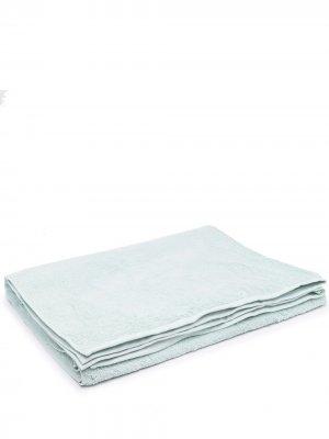 Пляжное полотенце из органического хлопка TEKLA. Цвет: зеленый