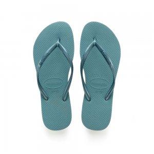 Slim Havaianas. Цвет: голубой