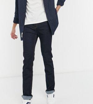 Зауженные книзу эластичные джинсы цвета индиго -Голубой Duke