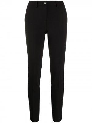 Зауженные брюки с завышенной талией Philipp Plein. Цвет: черный