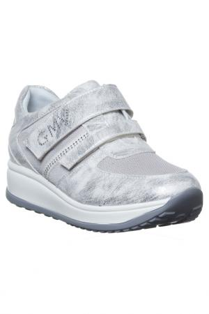 Sneakers GianMarco Venturi. Цвет: silver
