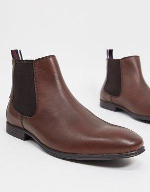 Ботинки челси из коричневой кожи -Коричневый цвет Ben Sherman