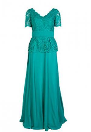 Платье MIKAEL. Цвет: зеленый