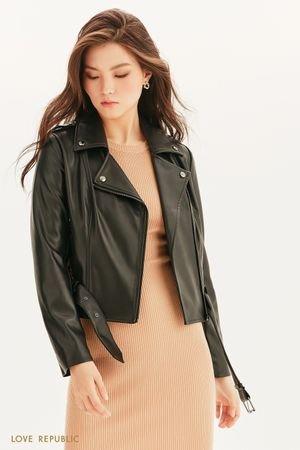 Куртка-косуха из экокожи LOVE REPUBLIC