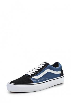 Кеды Vans OLD SKOOL. Цвет: синий