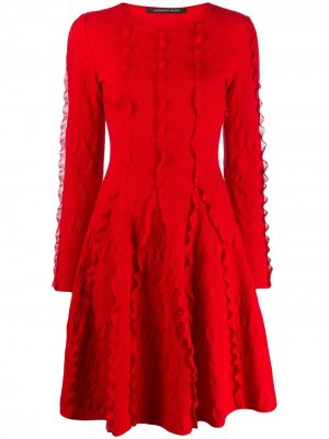Трикотажное платье с длинными рукавами Antonino Valenti