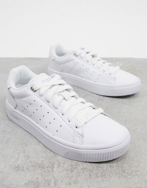 Белые кроссовки Court Frasco II-Белый K-Swiss