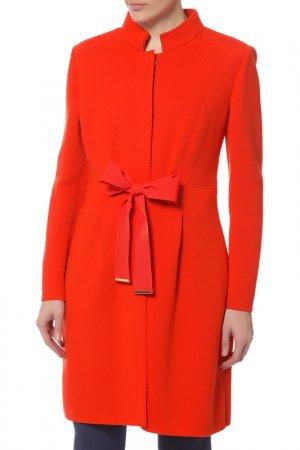 Пальто Luisa Spagnoli. Цвет: оранжевый