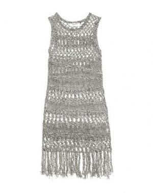 Короткое платье BAILEY 44. Цвет: серый