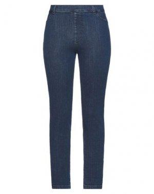 Джинсовые брюки CLUB VOLTAIRE. Цвет: синий