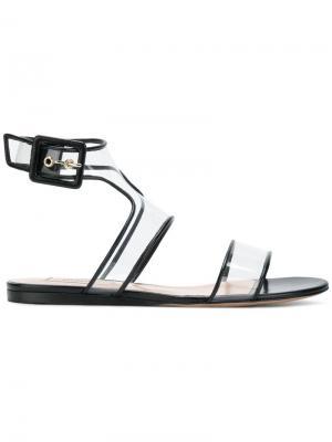 Прозрачные сандалии Garavani Valentino