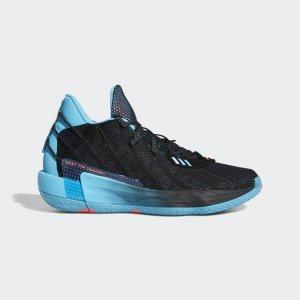 Баскетбольные кроссовки Dame 7 Performance adidas. Цвет: черный