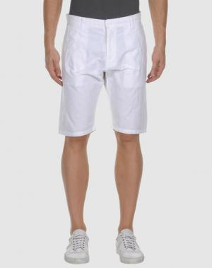 Бермуды FRANK Q. Цвет: белый