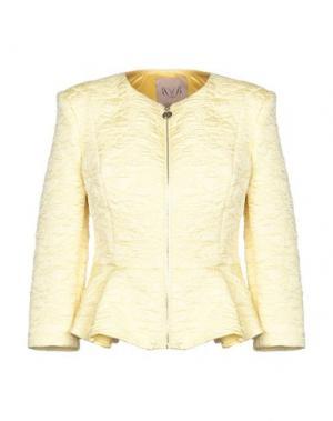 Пиджак BETTY BLUE. Цвет: желтый