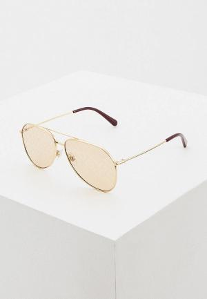 Очки солнцезащитные Dolce&Gabbana 0DG2244 02/02. Цвет: золотой