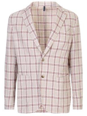 Пиджак из льна и хлопка L.B.M. 1911