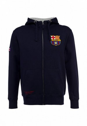 Толстовка Atributika & Club™ FC Barcelona FC001EMASB39. Цвет: синий