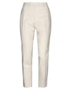 Повседневные брюки CAPPELLINI by PESERICO. Цвет: бежевый