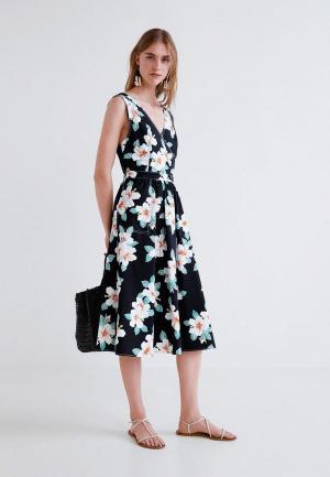 Платье Mango - GARDENIA. Цвет: черный