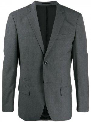 Фактурный пиджак Rick Filippa-K. Цвет: серый