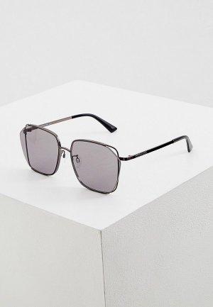 Очки солнцезащитные McQ Alexander McQueen MQ0287SA. Цвет: черный