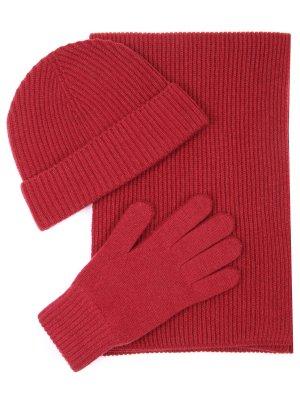 Комплект шапка, шарф, перчатки JOHNSTONS