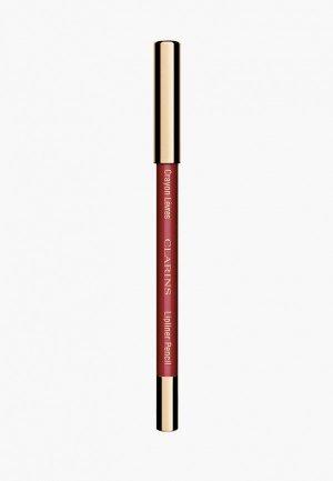 Карандаш для губ Clarins Crayon Levres, 05 roseberry, 1.2 г. Цвет: розовый