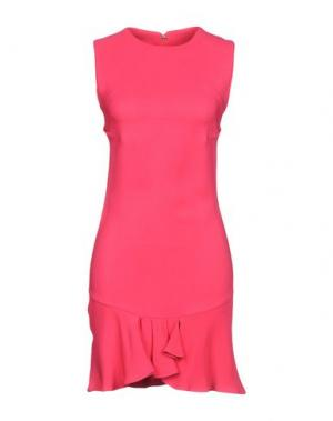 Короткое платье ANTONIO BERARDI. Цвет: фуксия