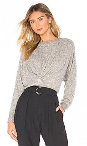 Пуловер yerrick Joie. Цвет: серый
