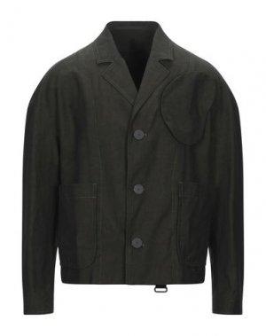 Пиджак TOM REBL. Цвет: темно-зеленый