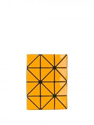 Картхолдер с геометричной отделкой Bao Issey Miyake. Цвет: оранжевый