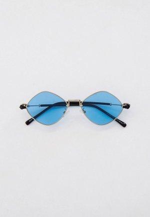 Очки солнцезащитные Havvs с поляризованными линзами, HV68033. Цвет: голубой