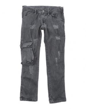 Повседневные брюки ALLIGALLI. Цвет: свинцово-серый