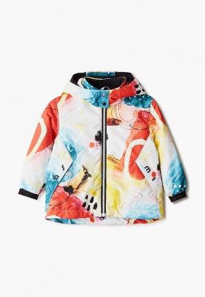 Куртка утепленная Artel. Цвет: разноцветный