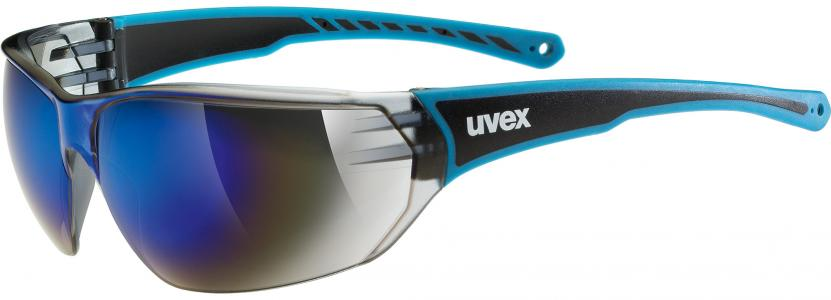 Солнцезащитные очки 204 Uvex. Цвет: черный