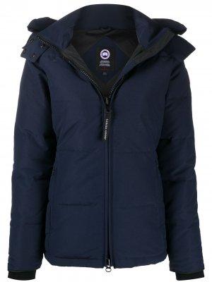 Стеганая куртка Chelsea Canada Goose. Цвет: синий