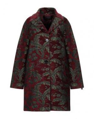 Пальто MASON'S. Цвет: красно-коричневый