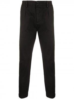 Укороченные брюки чинос Denver Haikure. Цвет: черный