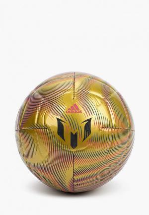 Мяч футбольный adidas MESSI CLUB. Цвет: золотой