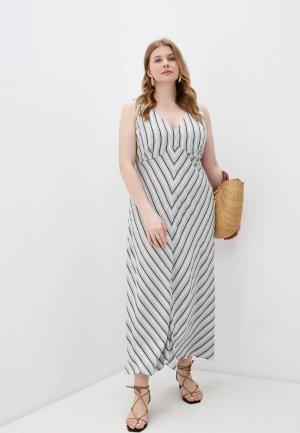 Платье Elena Miro. Цвет: серый
