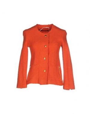 Куртка SAKURA. Цвет: ржаво-коричневый