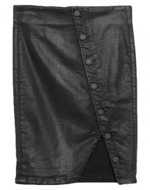 Джинсовая юбка RTA. Цвет: черный