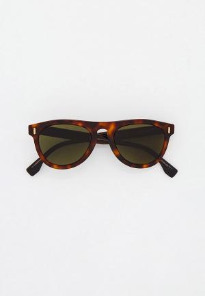 Очки солнцезащитные Fendi FF M0092/S 9N4. Цвет: коричневый