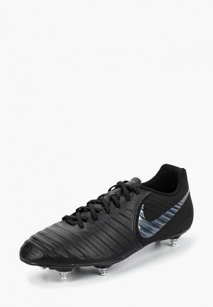 Бутсы Nike Tiempo Legend VII Club SG. Цвет: черный