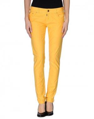 Повседневные брюки EIGHTH SIN. Цвет: охра