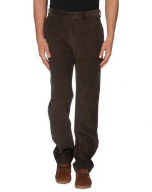 Повседневные брюки CARAMELO. Цвет: темно-зеленый
