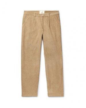 Повседневные брюки FOLK. Цвет: песочный